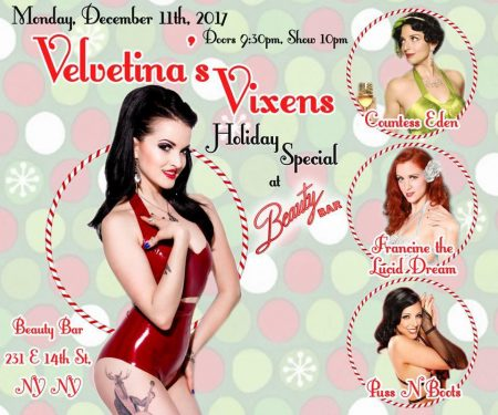 Velvetina's Vixens @ Beauty Bar NYC | New York | New York | United States