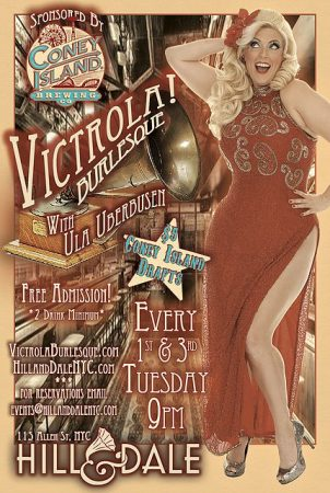 Victrola Burlesque @ Hill and Dale | New York | New York | United States